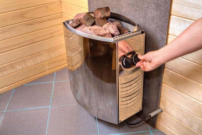Elektroofen Sauna