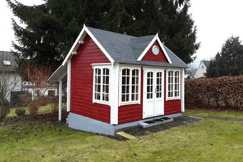 gartenhaus gestalten 1 clockhouse 5 stile. Black Bedroom Furniture Sets. Home Design Ideas