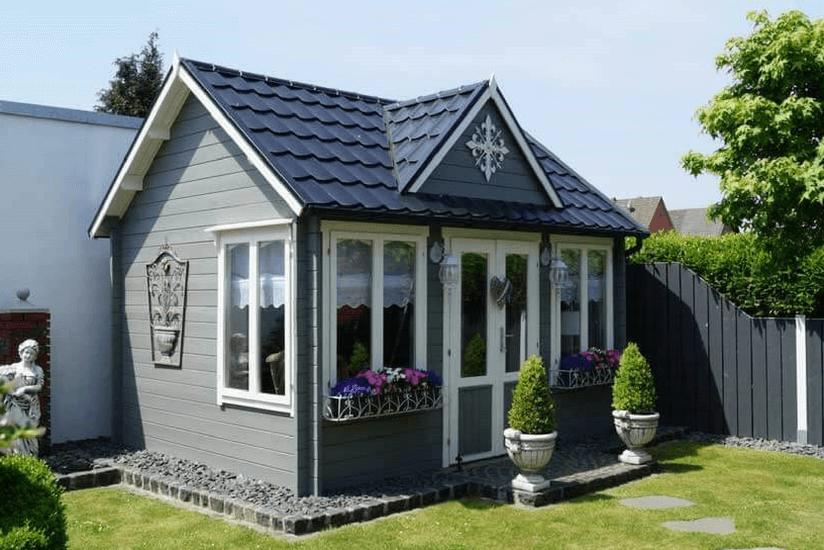 Gartenhaus gestalten 1 clockhouse 5 stile - Skandinavisches gartenhaus ...