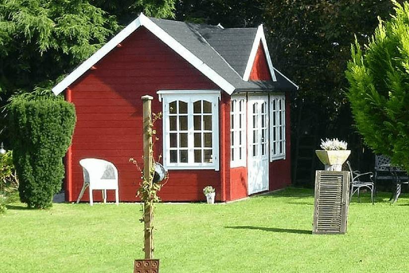 Gartenhaus gestalten 1 clockhouse 5 stile - Gartenhaus im schwedenstil ...