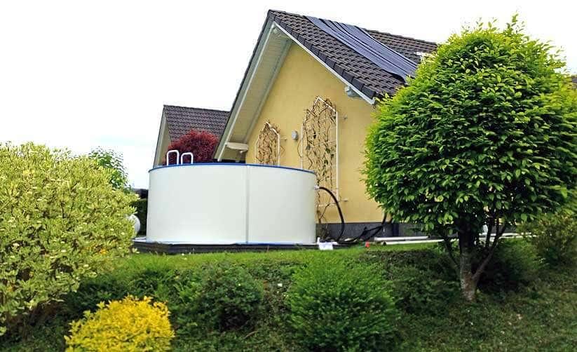 Gardenlounge Viva 70b Spektakularer Aufbau Am Hang
