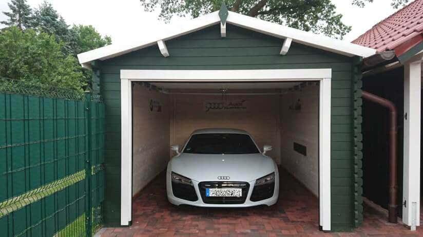 Garage Aufbau Was Nicht Passt Wird Passend Gemacht