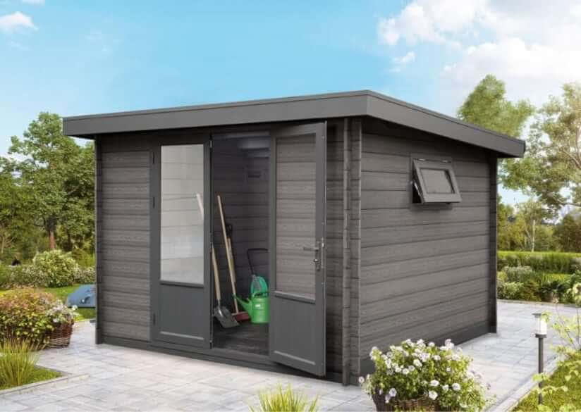 Gartenhaus 3 X 2 : ein gartenhaus aus wpc ohne streichen sch n wie holz ~ Watch28wear.com Haus und Dekorationen