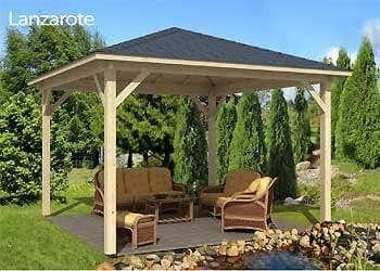 gartenlounge selber bauen ein pavillon f r die ganze familie. Black Bedroom Furniture Sets. Home Design Ideas