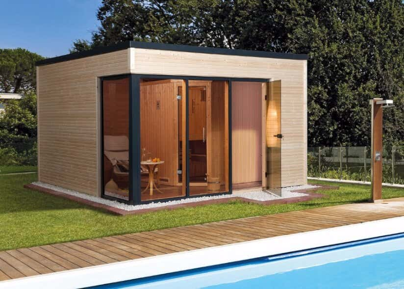 Sauna Für Garten : sauna trends 2019 entspannen in der gartensauna modern ~ Watch28wear.com Haus und Dekorationen