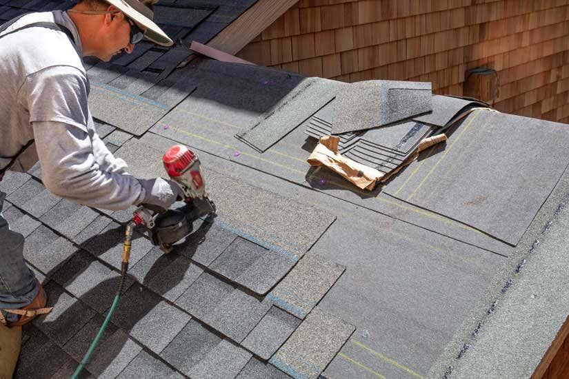 Carport Dach decken