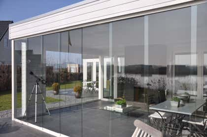 Glasschiebewände Für Terrassenüberdachungen
