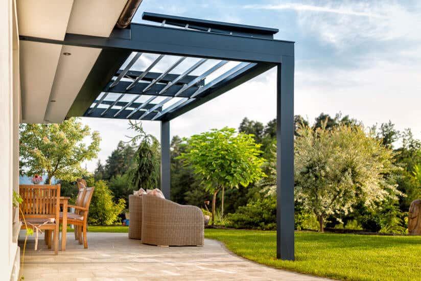terrassenueberdachung aus polycarbonat acryl oder glas