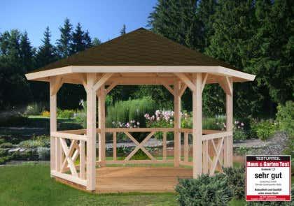 Turbo Gartenpavillon aus Holz kaufen – Gartenlauben vom Fachmann UZ18