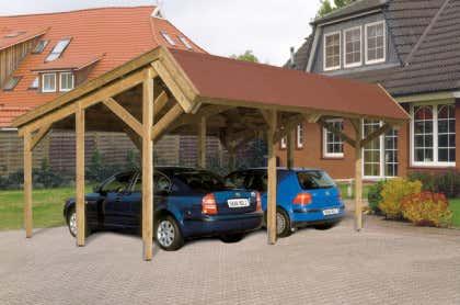 Bekannt Carports aus Holz günstig kaufen: Holz-Carports bis zu -50% WE52