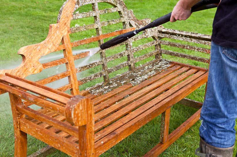 Gartenmöbel Reinigen So Werden Holz Metall Co Sauber