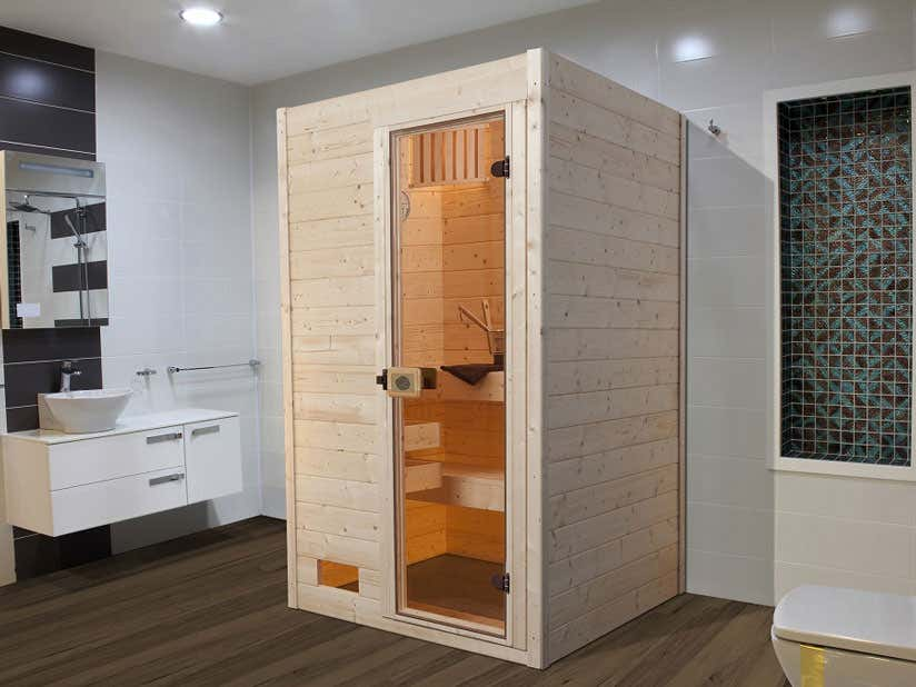Sauna Innenkabine Badezimmer