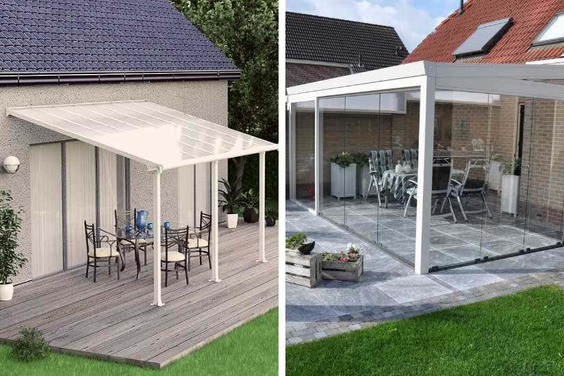 Terrassenüberdachung oder Wintergarten