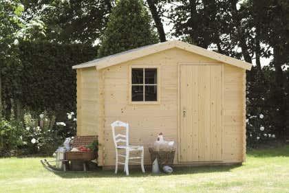 Häufig Gerätehaus aus Holz: Gartengerätehaus zum fairen Preis LE43