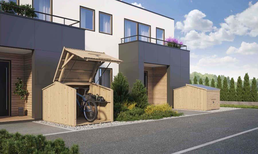 Fahrradunterstand Bikebox
