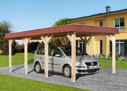 Gut gemocht Carport günstig kaufen: Schutz für Ihr Auto vor Hitze & Hagel PZ92