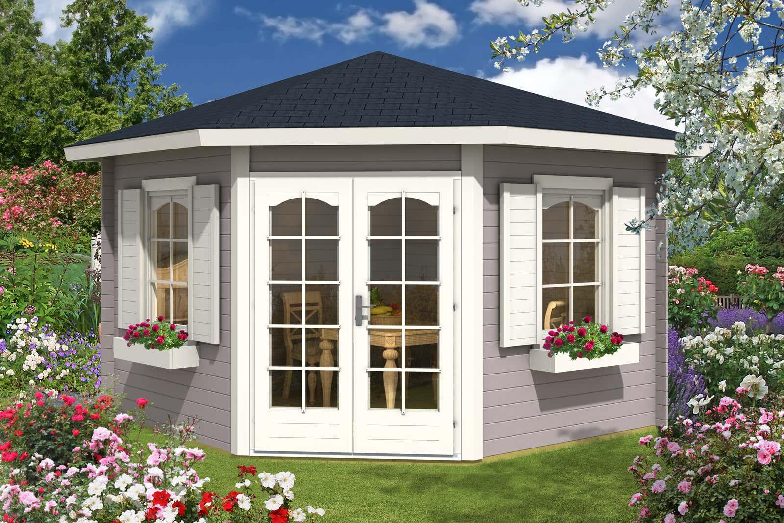 5 eck gartenhaus modell alina 28 a z gartenhaus gmbh. Black Bedroom Furniture Sets. Home Design Ideas