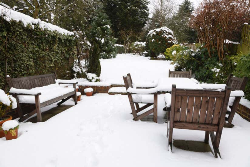 Gartenmobel Winterfest Machen So Uberwintern Mobel Im Garten