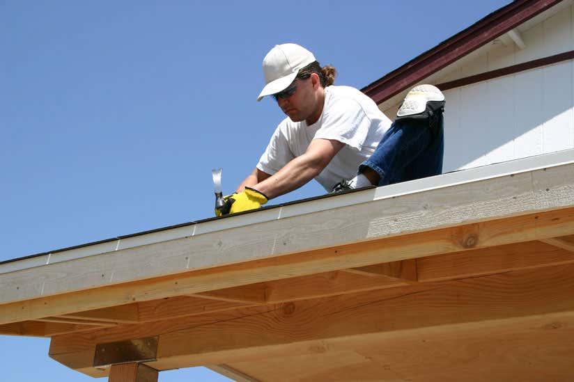 Terrassendach erneuern