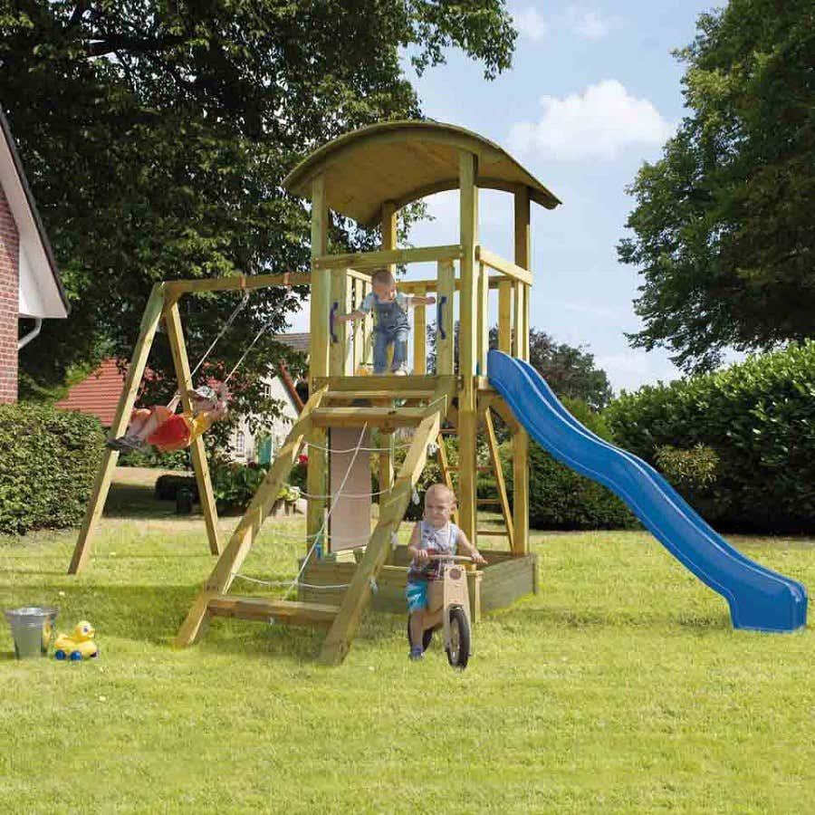 Spielturm Kinderspielgerät Garten