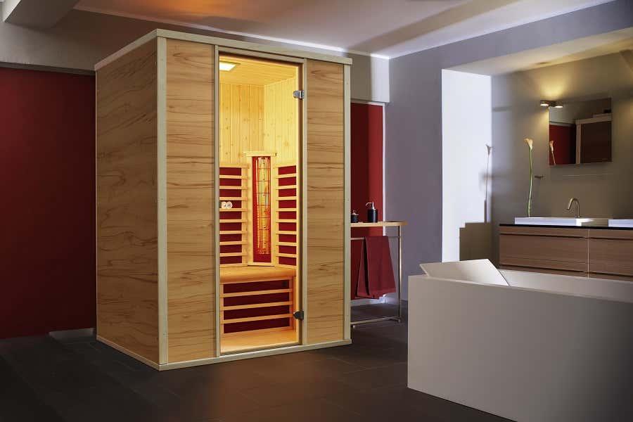 infraworld infrarotkabine vario 125 390086 a z. Black Bedroom Furniture Sets. Home Design Ideas
