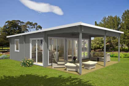 Moderne Gartenhäuser kaufen ‒ Über 100 Design-Gartenhäuser