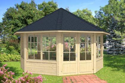 Extrem Gartenpavillon aus Holz kaufen – Gartenlauben vom Fachmann PL99