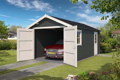 Holzgaragen kaufen: Garagen aus Holz bis zu -50% reduziert