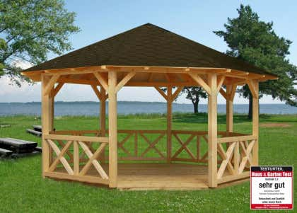 Palmako Gartenpavillon Betty 180 M2