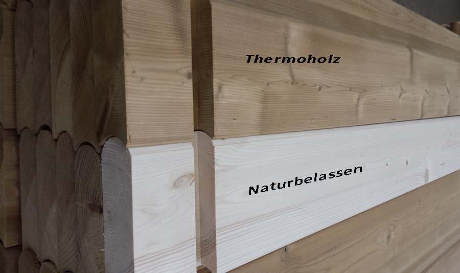 Wolff Finnhaus Saunafass 280 de luxe Thermoholz 310 670