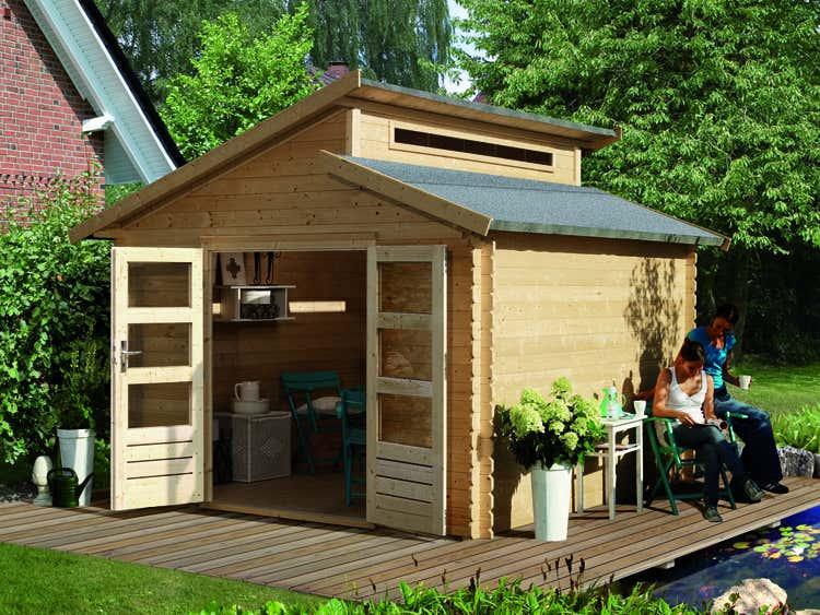 karibu gartenhaus v rmland 1 a z gartenhaus gmbh. Black Bedroom Furniture Sets. Home Design Ideas