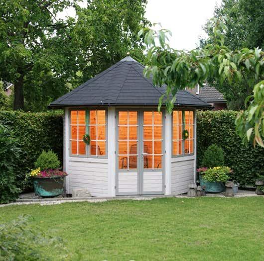 wolff gartenpavillon palma 660 005 a z gartenhaus gmbh. Black Bedroom Furniture Sets. Home Design Ideas