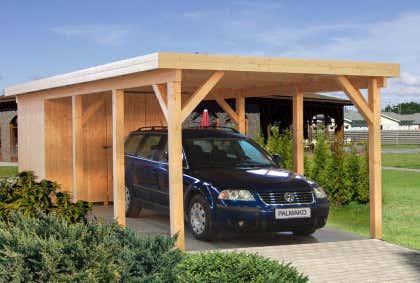 Carports aus Holz günstig kaufen: Holz-Carports bis zu -50%