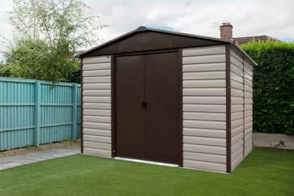 Berühmt Metallgerätehaus » Gartenhaus aus Metall günstig kaufen UP42