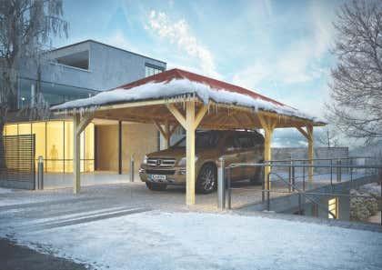 Relativ Carport günstig kaufen: Schutz für Ihr Auto vor Hitze & Hagel MY56