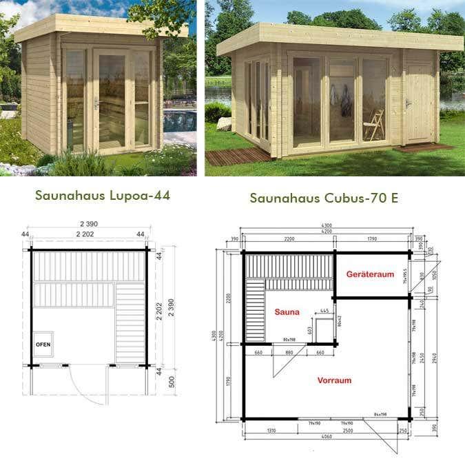 Super Outdoor-Sauna im Garten: Tipps rund ums Saunahaus #HH_74