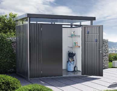 8x4ft Metalllagerhalle / Outdoor Gartenhaus Mit Flachdach /  Fertighaus-schuppenkabine - Buy Wasserdichte Gartenhaus,Garten Schatten  Schuppen,Verwendet ...