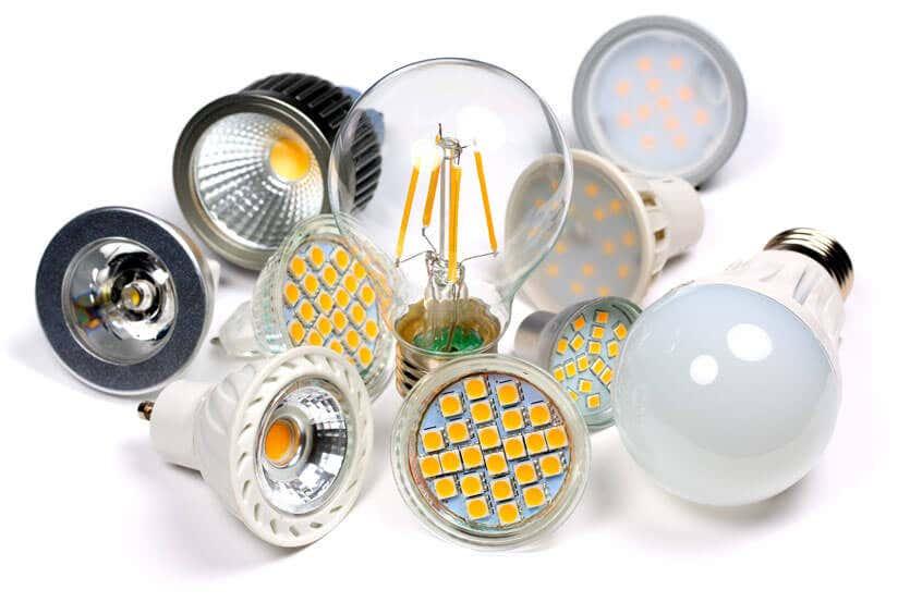 Viele LED-Lampen