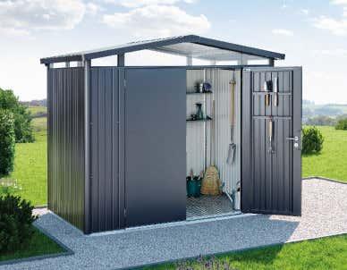 Gut bekannt Metallgerätehaus » Gartenhaus aus Metall günstig kaufen UH16