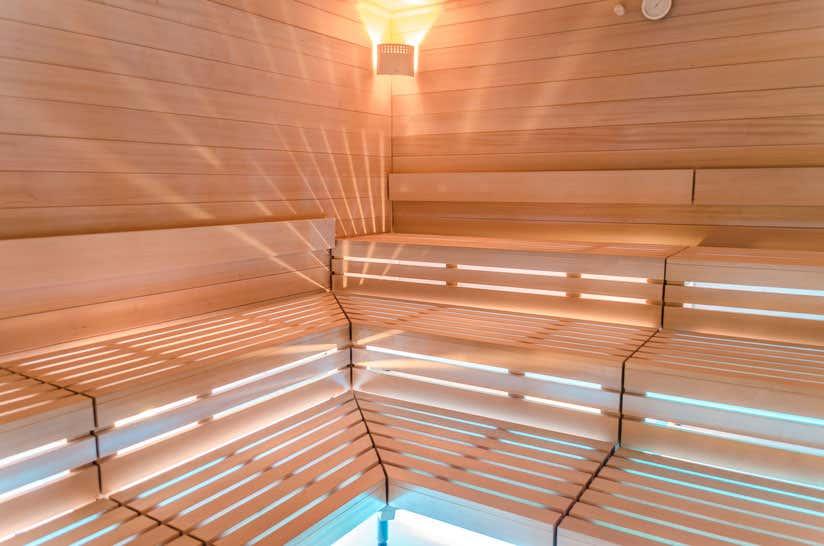 Sauna-Reinigung