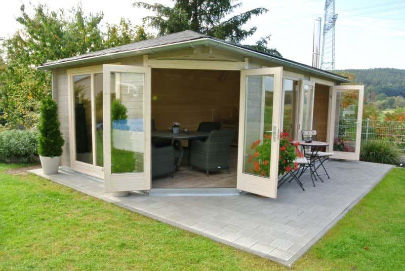 5 eck gartenhaus julia 40 iso a z gartenhaus gmbh. Black Bedroom Furniture Sets. Home Design Ideas