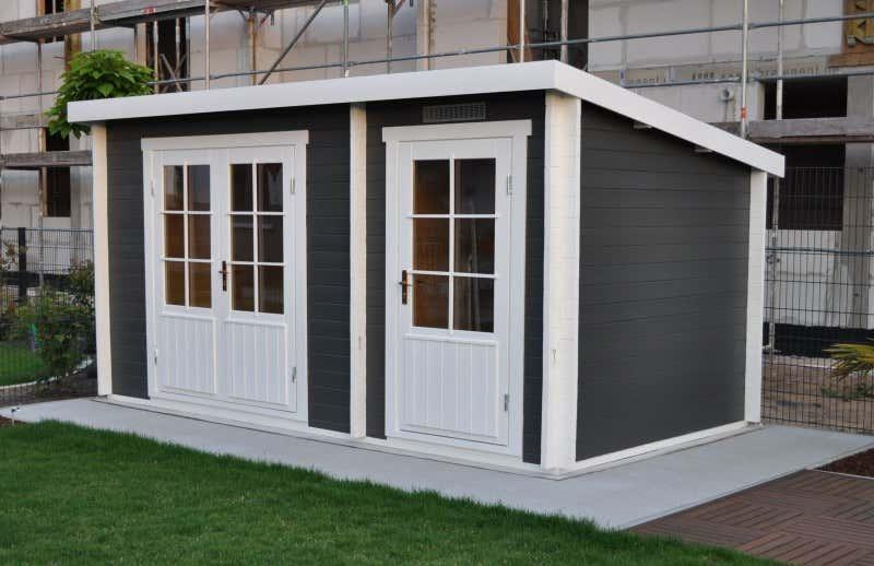 pultdach gartenhaus modell maria 28 mit anbau pultdach gartenhaus modell maria 28 mit anbau a. Black Bedroom Furniture Sets. Home Design Ideas