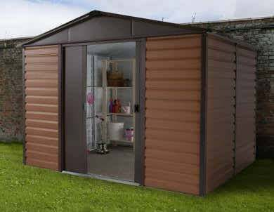 Fabulous Metallgerätehaus » Gartenhaus aus Metall günstig kaufen JZ22