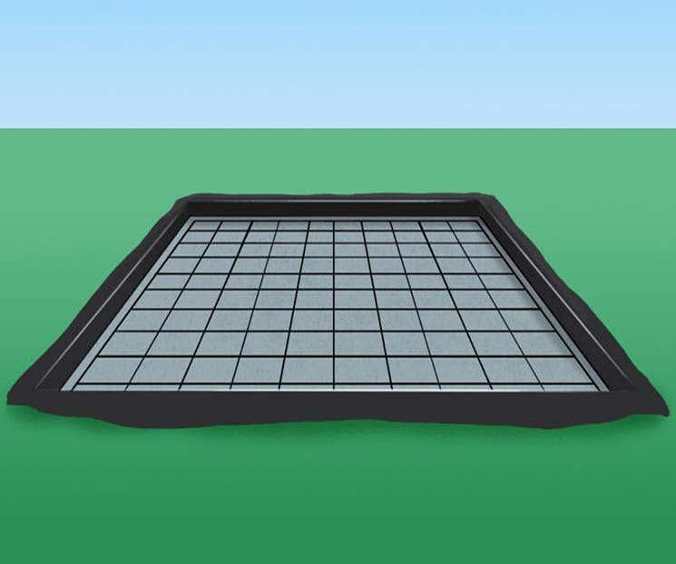 Fundamentplatte Boden
