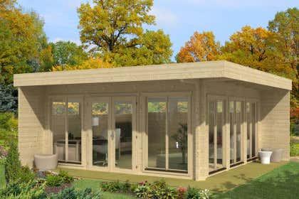Blockhaus kaufen: Holzhaus und Blockbohlenhaus bis zu -50%
