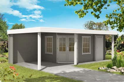 Gartenhaus Design Metall