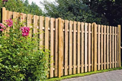 Holzzäune Günstig Kaufen Gartenzäune Aus Holz Bis 50