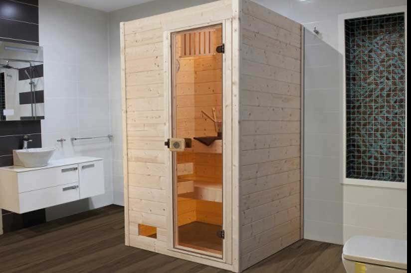Sauna niedrige Deckenhöhe: Das müssen Sie beachten!