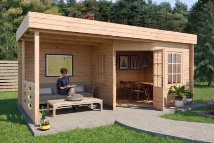Gartenhaus Mit Flachdach Gunstig Kaufen Keine Versandkosten