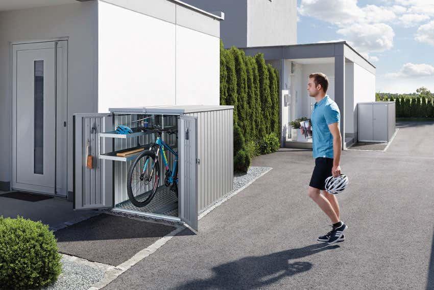 Biohort mini garage a z gartenhaus gmbh - Genehmigungspflicht gartenhaus ...